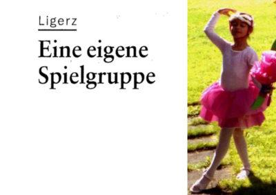Spielgruppe Sunneschyn Ligerz – Zusammenarbeit mit der Kirchgemeinde Ligerz und einem Arbeitskreis an Ort (2007)